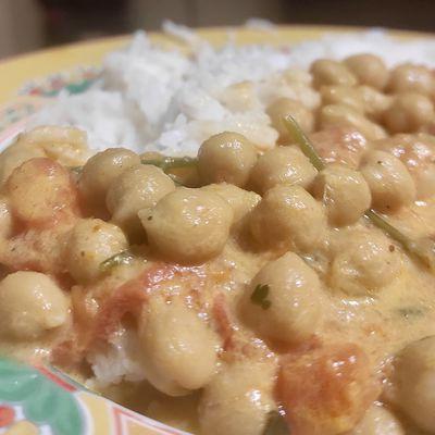 Curry de Pois Chiches (Vegan)