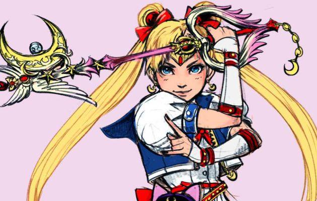 Sailor Moon version Kingdom Hearts
