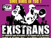 Quelques affiches du groupement d'associations http://existrans.org