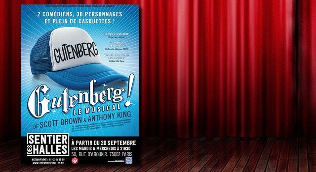 'Gutenberg ! Le Musical'