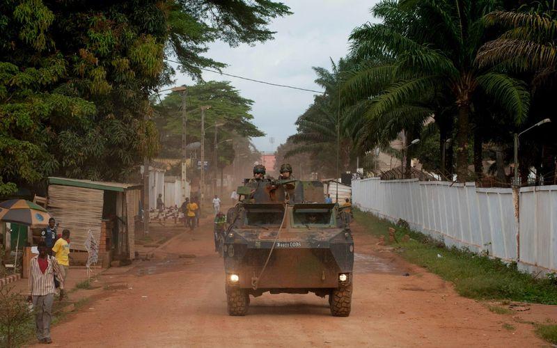 Opération Sangaris en Centrafrique : C'est parti !