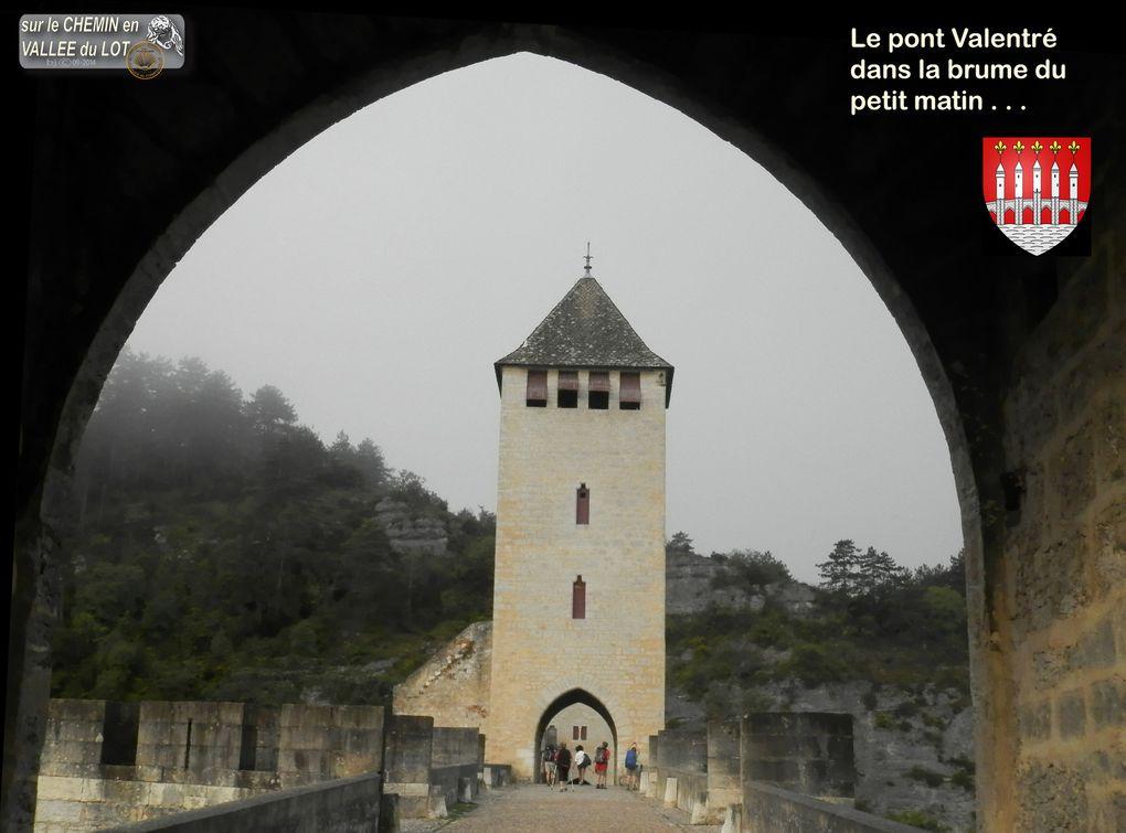 CAHORS - Le PONT VALENTRE - Patrimoine UNESCO - Pont Médiéval fortifié - XIVéme Siécle .