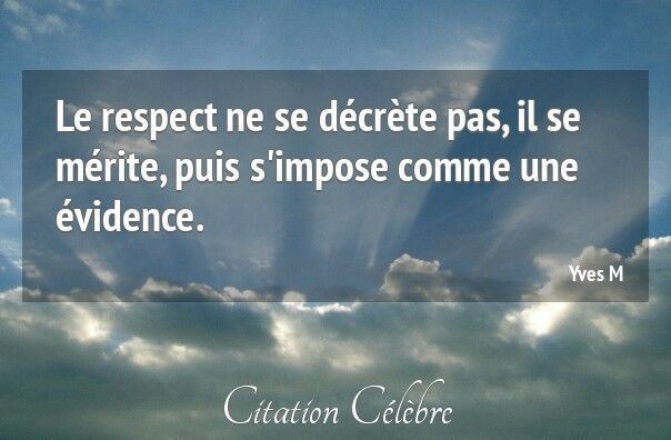 COMME UNE EVIDENCE