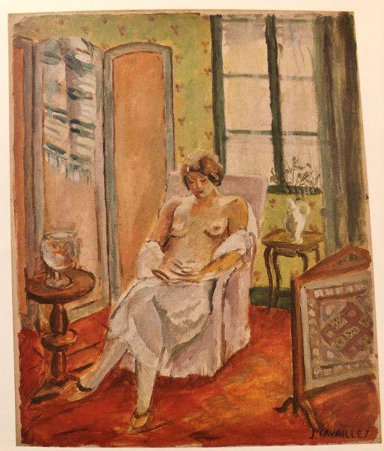 Femmes en peinture - Jules Cavaillès