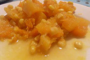 Humita (potiron-maïs)