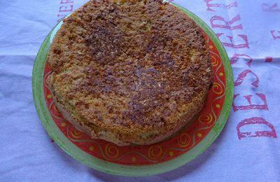 Gâteau aux amandes et au pralin