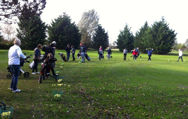 Reprise des cours collectifs au golf public
