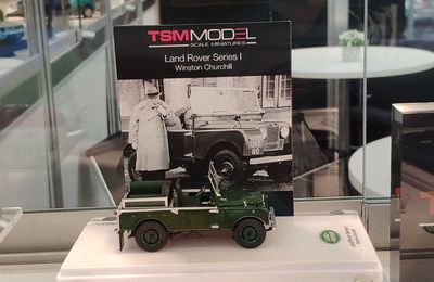 Land rover series 1 de Winston Churchill au 1/43 (TSM Model)
