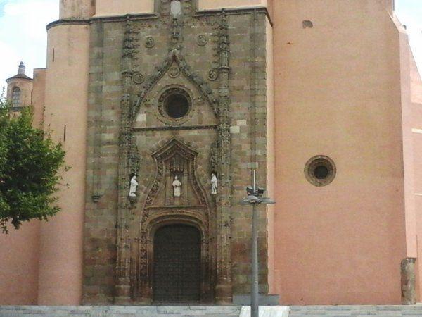 Photos 1 à 4 Eglise de Los Santos de Maimona