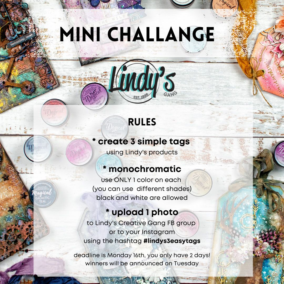 Lindy's 3 easy tags