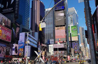 New York Février 2019 - p11 : Times Square, Bryant Park & Départ