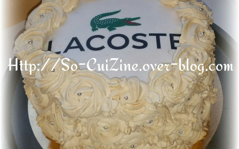 Lacoste Rose Cake