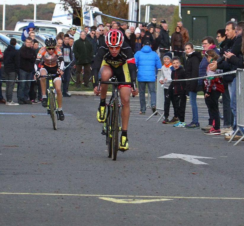 Les classements et les photos du départemental de cyclo-cross à Maintenon (28)