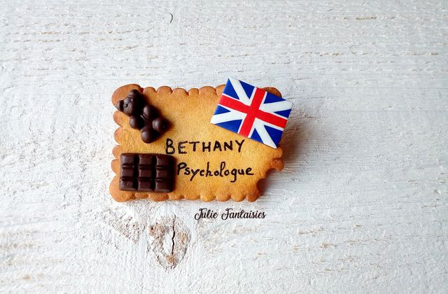 Badge pour Bethany, Psychologue