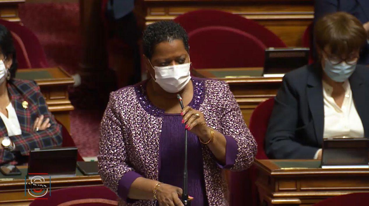 Victoire Jasmin au Sénat, le 12 novembre dernier