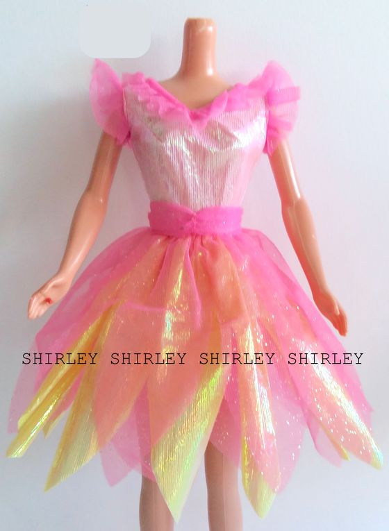 """BUBBLE FAIRY"" BARBIE DOLL CLOTHES 1998 MATTEL #22089"