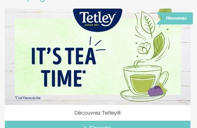 [Insiders] Nouvelle campagne Tetley
