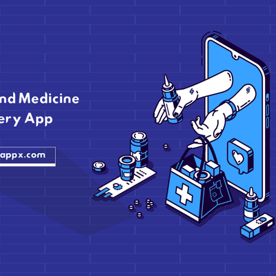 On-Demand Medicine Delivery App - GoAppX