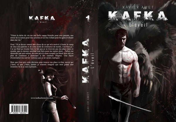 KAFKA création de la couverture du roman