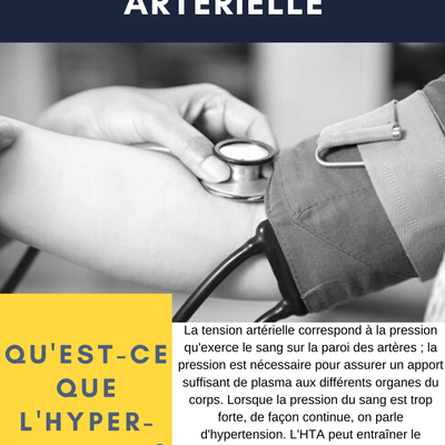 ALIMENTATION ET L'HYPERTENSION ARTERIELLE