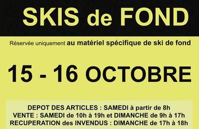Bourse aux skis de fond 2016 - Châtillon-sur-Cluses (74)