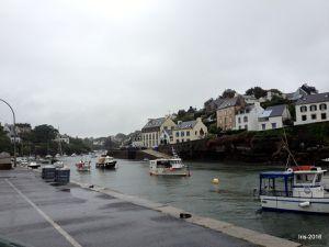 Entrée de la Ria et Port de Doelan, joli écrin du sud Finistère