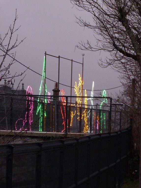 L'atelier fer illumine l'Ime et la commune de Marmanhac.