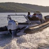 Scoop - Honda Marine launches complete range of rigid-inflatable and open boats - Yachting Art Magazine