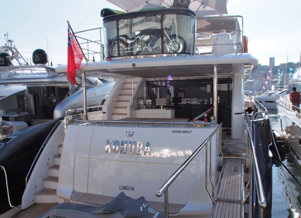 Princess Yachts - £70 million orders generated during the autumn shows
