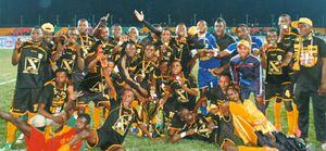 ©Diables noirs champions 2014 à Sibiti