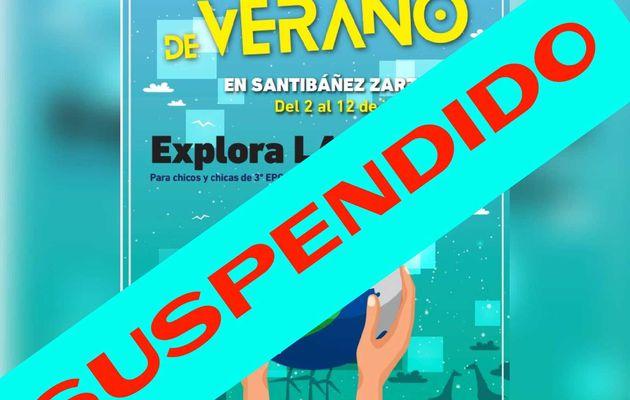 Campamento de Verano 2020 (Cancelado)