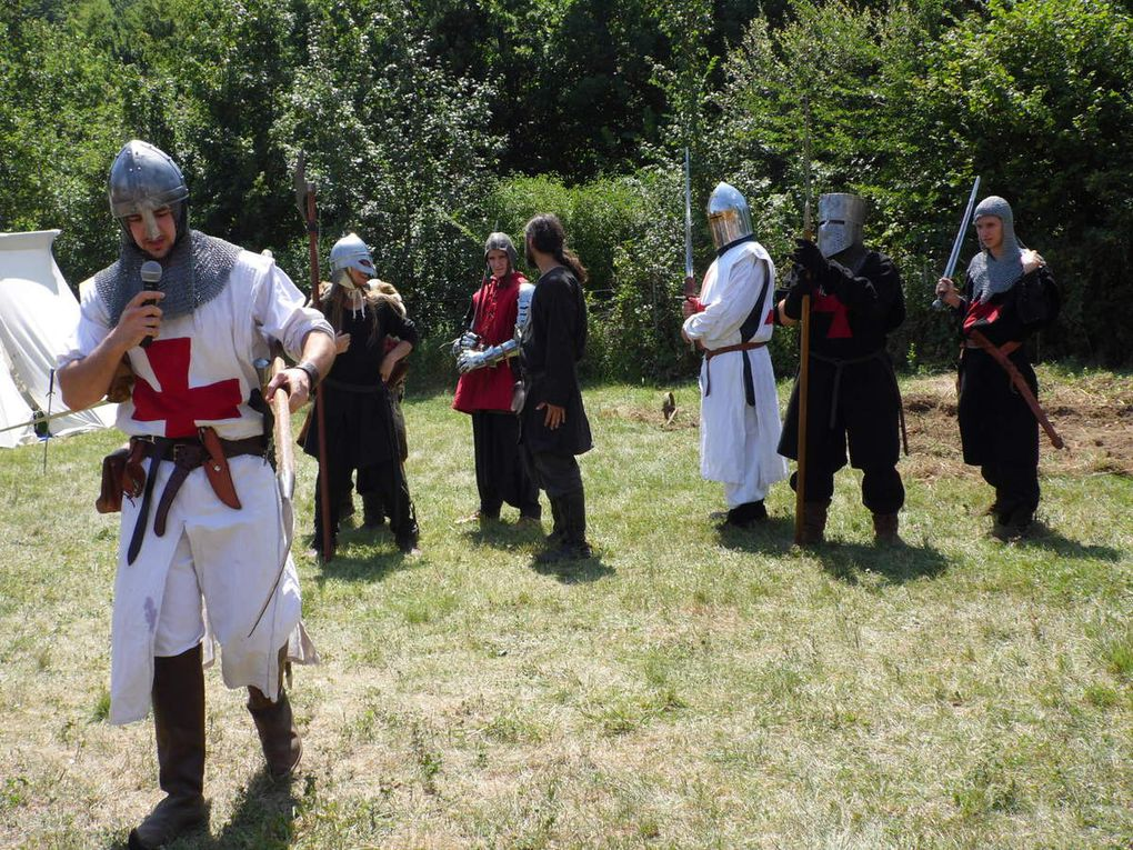 Des combats médiévaux !