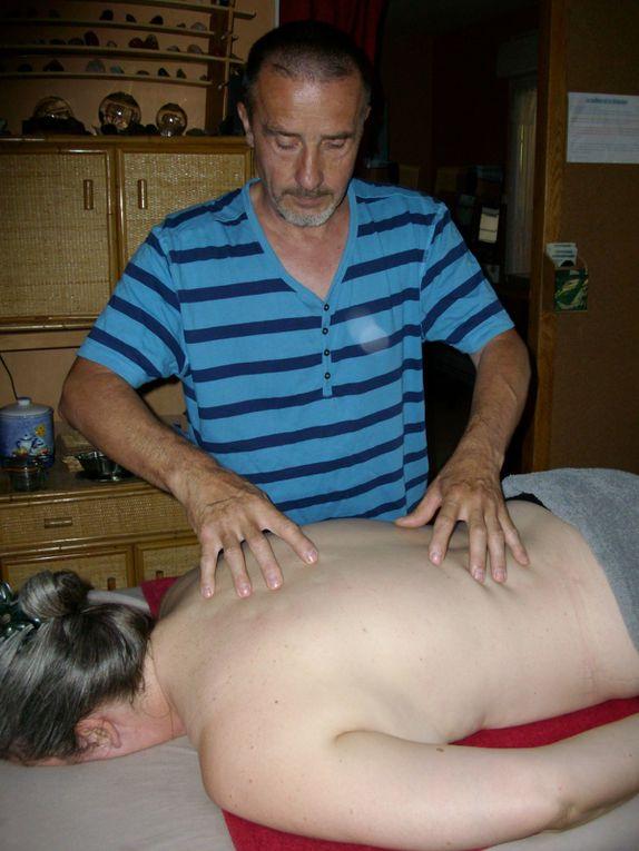 Le massage doit être actif, en mouvement énergétique.