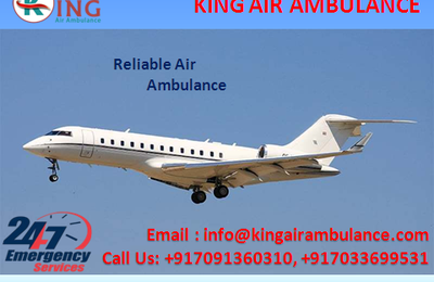 King: The Air Ambulance Service in Patna: The Medically Featured Transportation Service for Patient