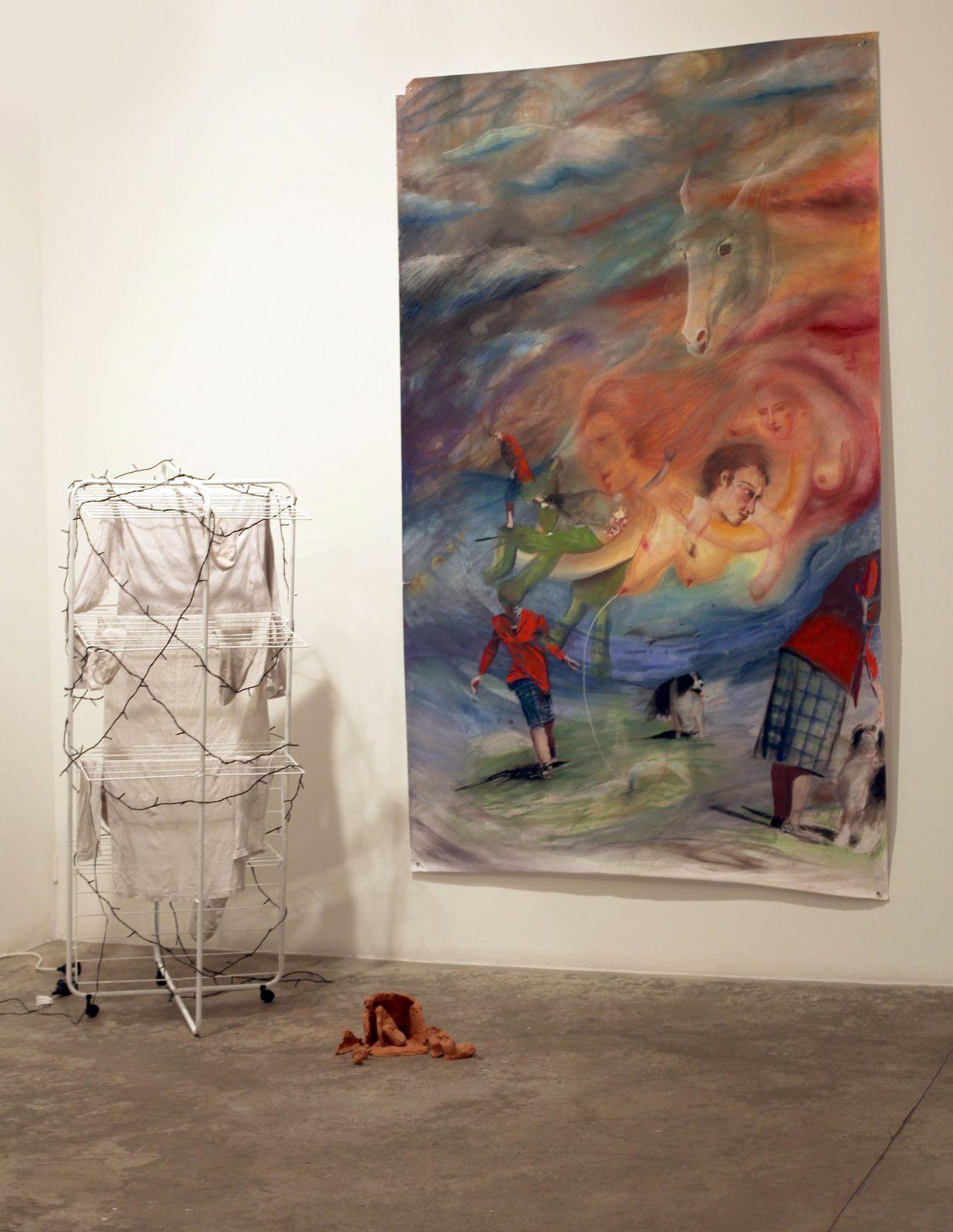 """""""Noël"""", 2018 de Janna ZHIRI - Courtesy de l'artiste et de la Galerie Georges-Philippe & Nathalie Vallois © Photo Éric Simon"""