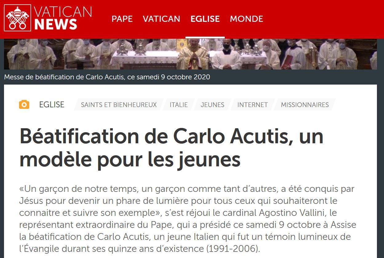 https://www.vaticannews.va/fr/eglise/news/2020-10/beatification-de-carlo-acutis-un-modele-pour-les-jeunes.html