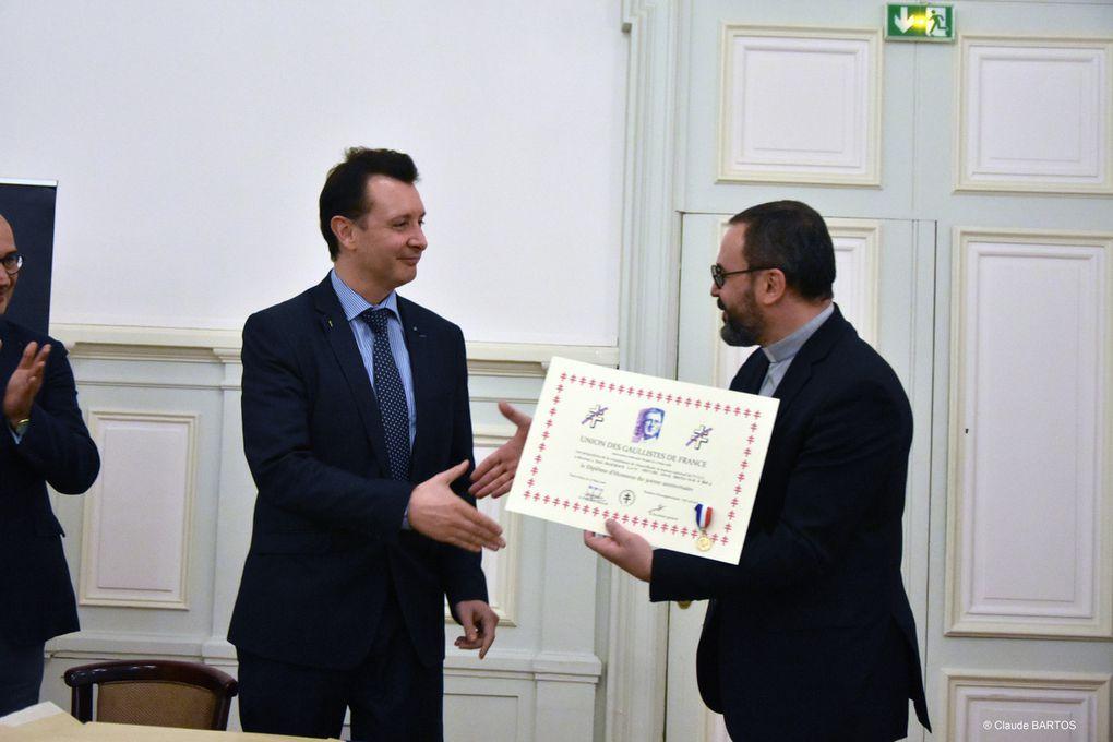 Conférence en mairie du 9ème arrdt de Paris, le 26 septembre 2018.