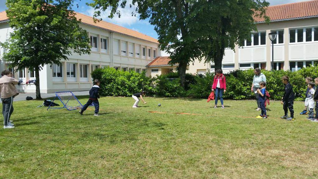 Journée sportive du 28 mai 2019 pour les CP / CE1