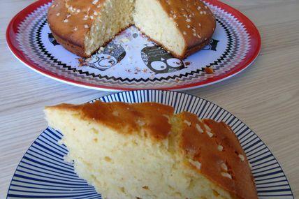 """Gâteau """"verre de lait"""" parfumé au Soho"""