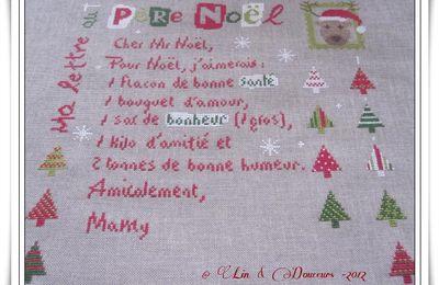lettre Père Noel lili point 4