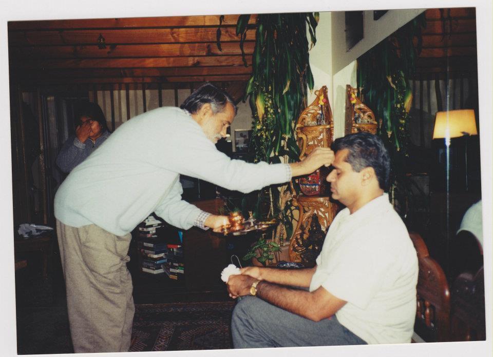 M S Vishwanatha is Pathabhi Jois' nephew and he was my first ashtanga teacher in Argentina.