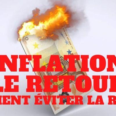 « Retour de l'#inflation. Comment éviter la ruine ? »