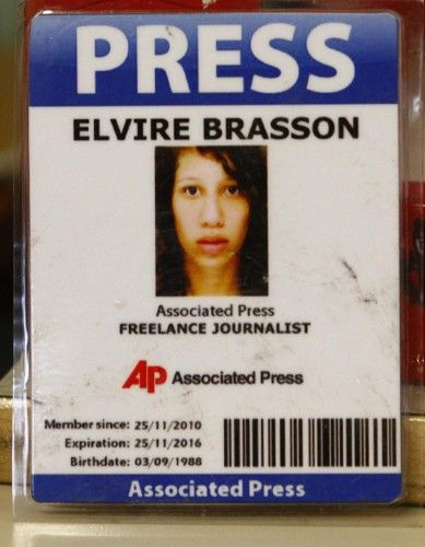 Femen Elvire Brasson Associated Press