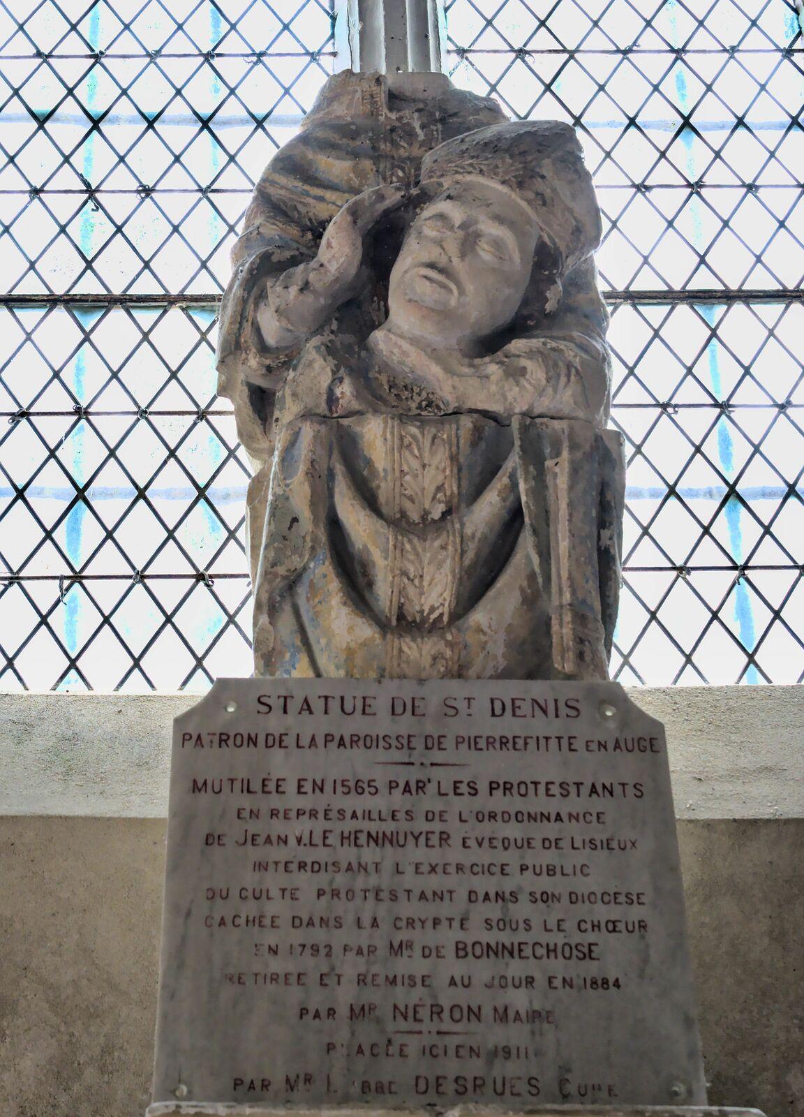 Eglise Saint-Denis, Pierrefitte en Auge