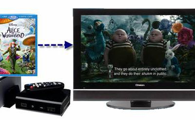 Rip Blu-ray to 1080p DivX AVI video for watching on HDTV via WD TV HD Media Player