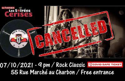 🎵 07/10/2021 : Dolores! @ Rock Classic - 55, rue Maché au Charbon à 1000 Bruxelles - 21h00 - Entrée gratuite / Free entrance