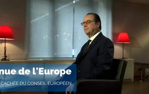 François Hollande invité de « Avenue de l'Europe, le mag » ce soir sur France 3