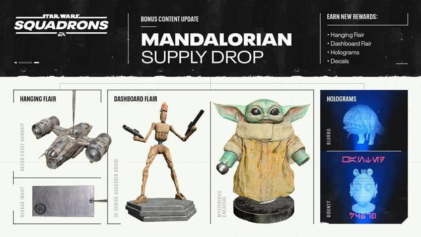 [ACTUALITE] Star Wars: Squadrons - Le contenu téléchargeable The Mandalorian arrive le 28 octobre
