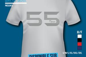 T-shirt France: Lorraine - Meuse 55.