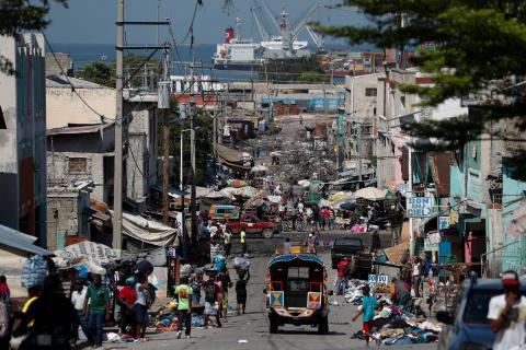 Port-aux-Princes, capitale de Haïti